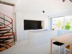 Declerck daels architecten bomarbre floor vloer interieur declerck daels pinterest - Deco klassiek koken ...
