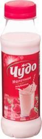 Коктейль Чудо молочный клубника 2%  — 38р. --------------------- Чудо молочное коктейль стерилизованный со вкусом клубники.