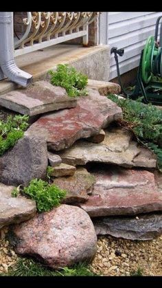 Diy backyard ideas for small yards 5983978519 Landscaping With Rocks, Outdoor Landscaping, Front Yard Landscaping, Backyard Patio, Outdoor Gardens, Landscaping Ideas, Backyard Ideas, Garden Yard Ideas, Lawn And Garden