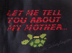 """Let me tell you about my mother... - Blade Runner 4""""x6"""""""