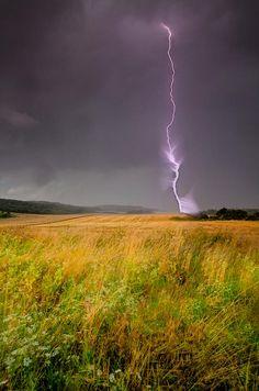 Storm Over The Wheat Fields- Bulgaria -  by Eti Reid