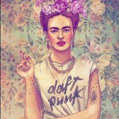 Frida kahlo!:) i love this