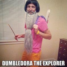 DumbleDora the Explorer - Funny Halloween Costume