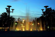 Knoxville World's Fair Park Fountains