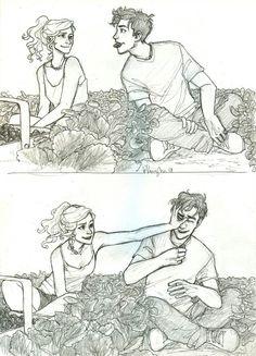 Percy and Annabeth <3