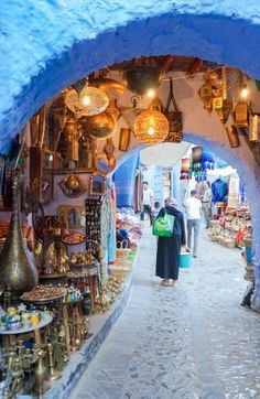 Chefchaouen, Morocco: Visit the Blue City - This Darling World Beautiful Places To Travel, Best Places To Travel, Places To Go, Casablanca, Marrakesh, Canada Travel, Travel Usa, Blue City Morocco, Morocco Chefchaouen