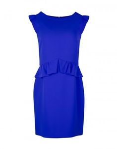 Sandro   RESONANCE ROYAL BLUE DRESS