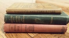 Vintage books! https://www.etsy.com/listing/170625931/small-antique-book-collection