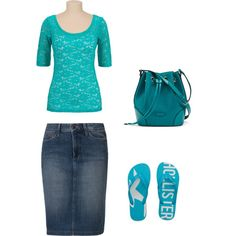 casual day 3#, created by modestfashions99 on Polyvore