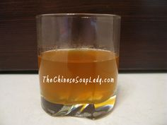 Lung Moisturizing Tea | The Chinese Soup Lady & Chinese Soup Recipes