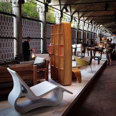 Ambientação mostra - semana de design de Milão 2015.