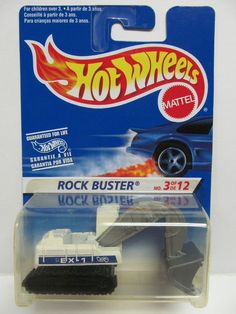 hot wheels rare rock buster excavator - Rare Hot Wheels Cars 2012