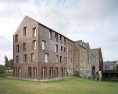 Verbouwing van een molencomplex in Aarschot (B) - De Architect