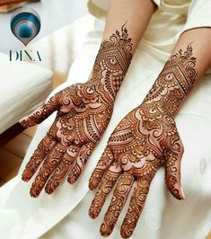 Arabic Mehendi Designs - Check out the latest collection of Arabic Mehendi design ideas and images for this year. Arabic mehndi designs are the most fashionable and much in demand these days. Engagement Mehndi Designs, Latest Bridal Mehndi Designs, Full Hand Mehndi Designs, Mehndi Designs Book, Modern Mehndi Designs, Mehndi Designs For Girls, Mehndi Designs For Beginners, Mehndi Design Photos, Wedding Mehndi Designs