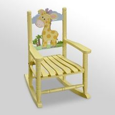 Teamson Kids Rocking Chair - Giraffe