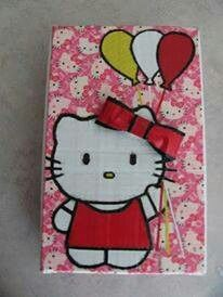 Duct Tape Hello Kitty Bead Box https://m.facebook.com/ducttapedoodadsbytena/