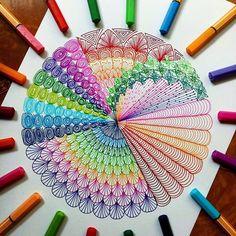 Mandala Art Lesson, Mandala Doodle, Mandala Artwork, Doodle Art Drawing, Mandala Drawing, Art Drawings Sketches, Pattern Drawing, Pattern Art, Art Patterns