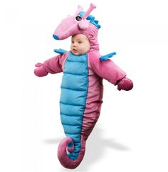 Who doesn't like seahorses?   #halloween #costume #adorable #cute #baby #funny
