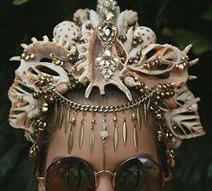 Haarschmuck Hochzeit Hippie Vintage Schalen Schneckenhäuser