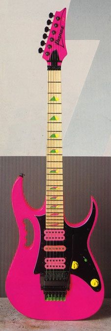 Ibanez - JEM777 Steve Vai Signature Shocking Pink