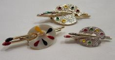 Painter's+Palette+Pins/Brooches+Gerry's+Painter's+by+Beadgarden55