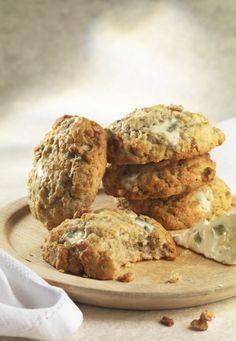 Cookies Roquefort et noix