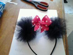 Minnie mouse ears for Mommy!