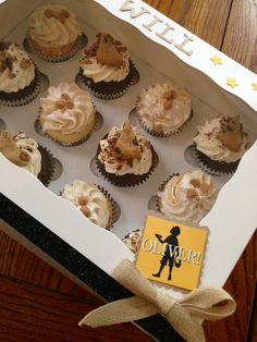 """Oliver"" cupcakes"