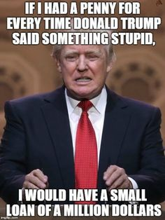 Donald Trump, because laws are for anyone not voting for Trump. It cannot apply to Donald Trump himself, because he is King in eyes. Donald Trump, Donald Duck, Funny Quotes, Funny Memes, Jokes, It's Funny, Memes Humor, Freaking Hilarious, Messages