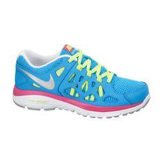Το γυναικείο αυτό παπούτσι της Nike γαλάζιο με ροζ και κίτρινες λεπτομέρειες διαθέτει: Εξωτερικό πλέγμα, που επιτρέπει την καλύτερη κυκλοφορία του αέρα. Ενδιάμεση σόλα Phylon για καλύτερη απορρόφηση κραδασμών. Εξωτερική σόλα από καουτσούκ για βέλτιστη πρόσφυση και μέγιστη αντοχή. Air Max Sneakers, Sneakers Nike, Shoes 2014, Running Women, Nike Air Max, Running Shoes, Fashion, Nike Tennis, Runing Shoes