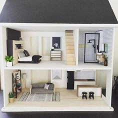 43 Ideas doll house barbie website for 2019 Dreamhouse Barbie, Wooden Dollhouse, Diy Dollhouse, Victorian Dollhouse, Barbie Furniture, Dollhouse Furniture, Doll House Plans, Barbie Dream House, Miniature Houses