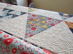 Quilting Is My Bliss: Toes in The Sand Quilt
