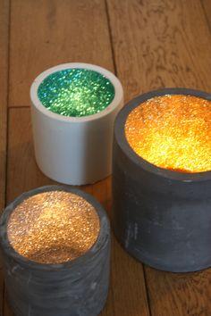OLCLondon Glitter Pots available on Etsy