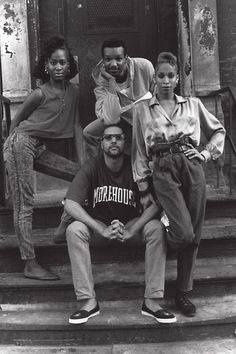 Members of The House of Saint Laurent (clockwise): Temperance, Terence, Octavia and Robbie, Harlem 1989. Photographer Chantal Regnault followed the predominantly African-American and Latin gay scene at its height between 1989-1992, capturing the energy of balls where men competed against one another, and the 'houses' that took inspiration from fashion labels.