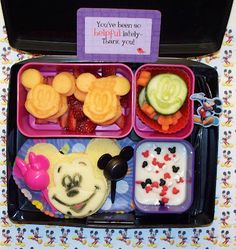 Mickey Mouse Lunch!  #Disney #bento