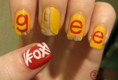 Glee Nails!!