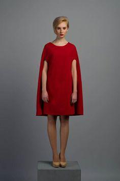 Платья ручной работы. Ярмарка Мастеров - ручная работа Платье-чехол красное. Handmade.
