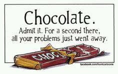 For more free cartoons daily, visit Jim Hunt Illustration Chocolate Humor, Chocolate Quotes, Death By Chocolate, I Love Chocolate, Chocolate Art, Chocolate Shop, Chocolate Coffee, How To Make Chocolate, Chocolate Lovers