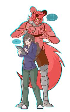 Commission: He's behind you! by Blueomoon on DeviantArt