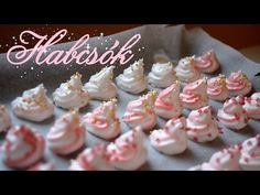 A Legfinomabb Habcsók Receptje 💜🎄 Comfort Zone, Mini Cupcakes, Biscuits, Food, Youtube, Crack Crackers, Cookies, Essen, Biscuit