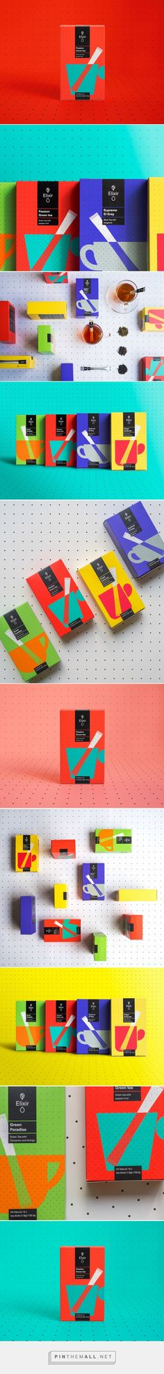 Elixir Tea packaging designed by Typical. (Greece) - http://www.packagingoftheworld.com/2016/03/elixir-tea-new-tea-ceremony.html