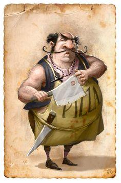 ArtStation - Gang of New York - character arts, Tomek Larek Fat Character, Character Creation, Character Concept, Concept Art, Fat Cartoon Characters, Gangs Of New York, Roman Warriors, Animation Tutorial, Character Design Animation