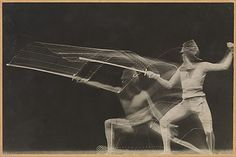 Fencer, 1906. Photograph by Georges Demeny.