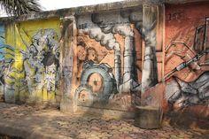 Mumbai Street Murals Of Peace by firoze shakir photographerno1, via Flickr