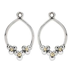Pandora Xmas(Christmas) Deals Silver and Gold Daisy Hoop Compose Earrings 290633 Clearance Deals Pandora Earrings, Pandora Jewelry, Pandora Charms, Pearl Earrings, Drop Earrings, Daisy, New Pandora, Jewelry Companies, Matching Necklaces