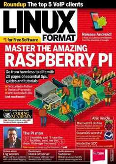 Linux Format 181. Master the Raspberry Pi and get the most out of the amazing tiny machine and create your first project!