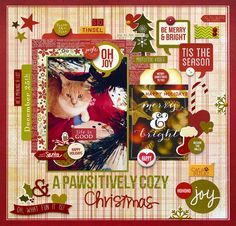 A Pawsitively Cozy Christmas *Simple Stories DIY and Cozy Christmas* - Scrapbook.com