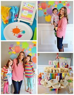 Art Themed 3rd Birthday Party via KARA'S PARTY IDEAS KARASPARTYIDEAS.COM The Place for All Things Party! Cake, decor, printables, favors, and more! #art #artparty #artpartysupplies #karaspartyideas #girlparty #artsupplies #artcake #partyplanning (11)