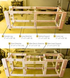 detailed plans for a mobile modular workbench.-detailed plans for a mobile modular workbench. woodworking bench detailed plans for a mobile modular workbench. Garage Workbench Plans, Workbench Designs, Mobile Workbench, Woodworking Bench Plans, Woodworking Workbench, Woodworking Workshop, Woodworking Projects Diy, Woodworking Furniture, Workbench Ideas
