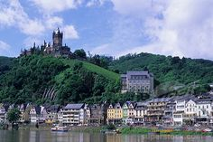 Fortress in Cochem, Germany. Went for a wine festival & did a Mid-Evil Times style dinner at the Cochem Castle!  Annabelle had a blast!